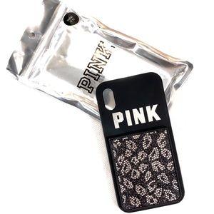 Victorias Secret PINK Leopard iPhone X/XS Case